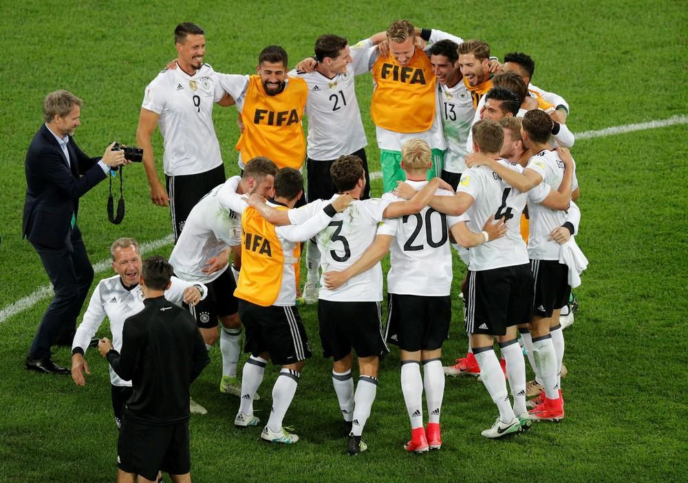 Alemanha deixa o Brasil para trás e assume a liderança do ranking da Fifa